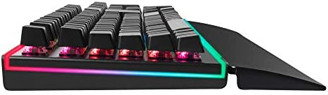 Mars Gaming Mk6BES - Clavier gaming optique mécanique, Chroma RGB, layout spagnol