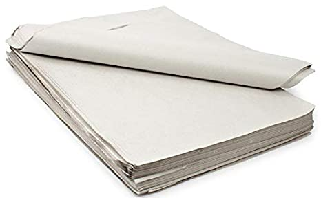 TYH Supplies 400 Large Sheets Newsprint Packing Paper Unprinted Blank 32 x 22 Inch