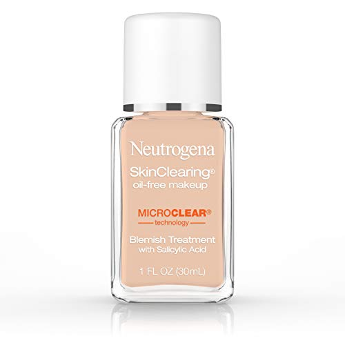 Neutrogena Skinclearing Makeup, 100 Natural Tan, 1 Fl. Oz.