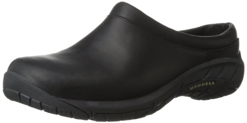 Merrell Women's Encore Nova 2 Slip-On Shoe,Black,11 M US (Merrell Fur Clog)