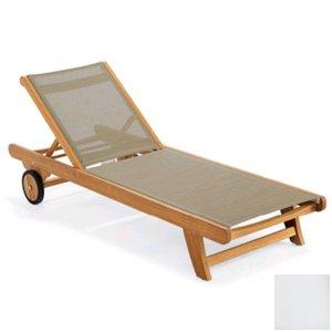 Uwharrie Chair N182 Nantucket Chaise Lounge - Adjustable - White (Chair Garden Uwharrie)