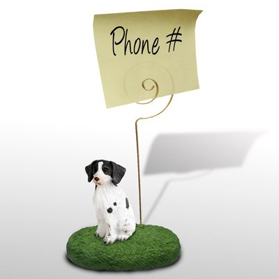 - Brittany Liver & White Spaniel Memo Holder