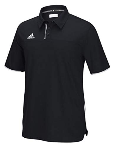 adidas Men's Adult Utility Polo Shirt Golf Sport Top Climacool 1849A (Black 2XL) ()