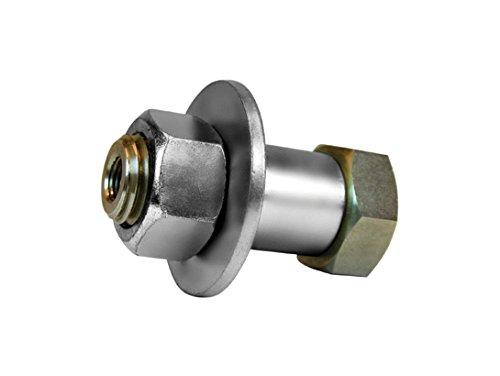 Justrite 25974 Stainless Steel Installed Nitrogen Pass-Through Valve Kit, For Safety Cabinet