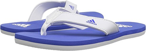 Kids Thongs (Adidas Performance Unisex-Kids Beach Thong 2 K, White/Hi-Res Blue/White, 12 M US Little Kid)