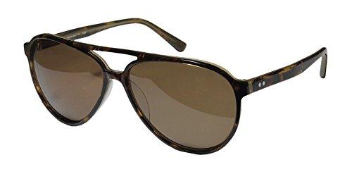 Ogi 8051 Mens/Womens Aviator Full-rim 100% UVA & UVB Lenses Sunglasses/Shades (59-14-140, Havana / - Sunglasses Ogi