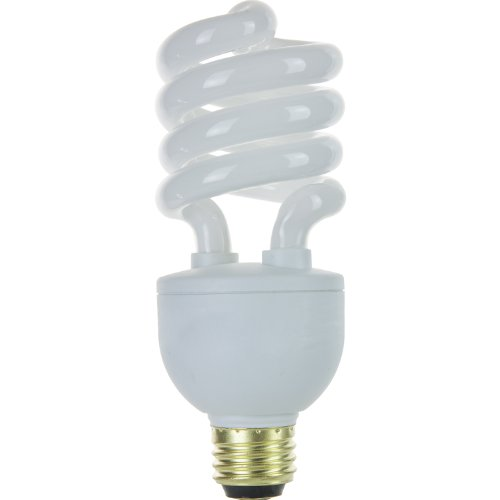 Sunlite SL25/E/3W/27K/CD1 13,20 and 25 Watt 3 Way Spiral Energy Star Certified CFL Light Bulb Medium Base, Warm White