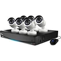 Swann 8-Channel 960H Digital Video Recorder with 6 x 650 TVL Cameras and Pre-Installed 1TB Hard Drive :