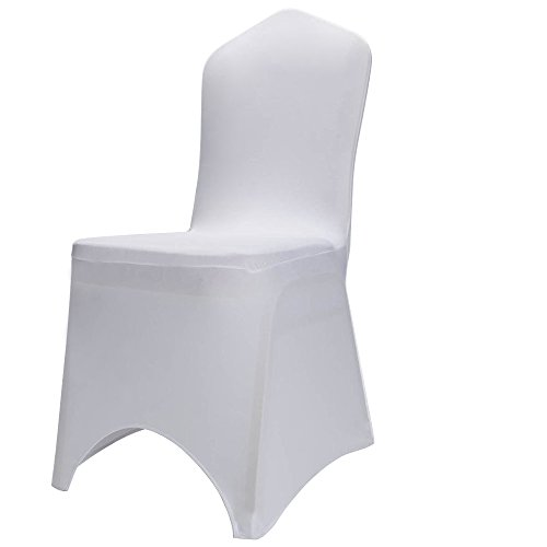 Boshen Set of 1/10/20/50/100 Pcs Hotel Banquet Dining Spandex Chair Covers (100 Pcs, Style 2) by Boshen