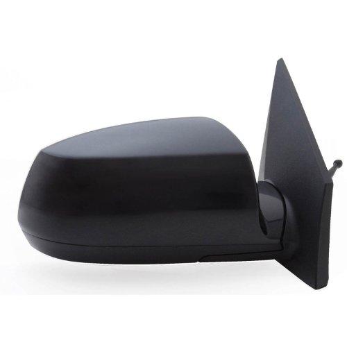 Fit System Kia Rio OE - Espejo de repuesto con lente cromada, Lado de pasajero (derecho), Negro