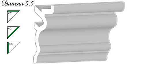 56 Ft of 5.5 Duncan Foam Crown Molding Room kit W//precut Corners on end of Lengths by Austin Crown Molding Available in 5 Other Styles and Quantities-See Our Other LISTINGS