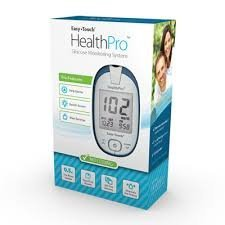 HealthPro Gluco-Meter Package - Meter, 100 Strips, 100 Lancets