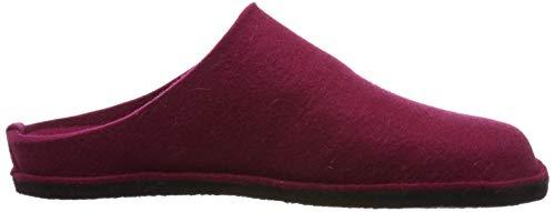 port Haflinger Mules Flair Femme Chaussons 33 Rouge Soft rxZrY6w4