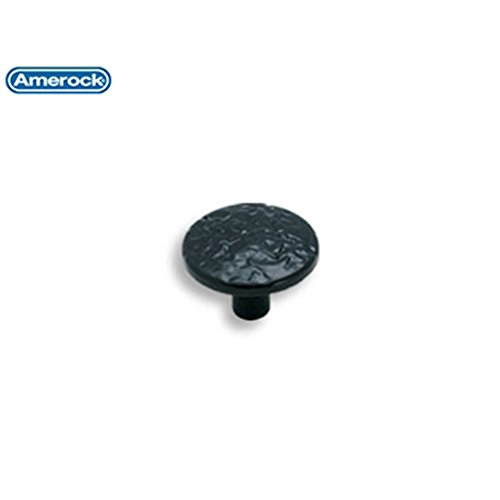 Amerock Allison Value Hardware 1-1/4 in. (32mm) Cabinet Knob Colonial Black - BP3403CB