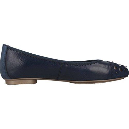 Hispanitas Zapatos Bailarina Para Mujer, Color Azul, Marca, Modelo Zapatos Bailarina Para Mujer HV86745 Azul Azul