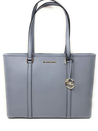 Michael Kors Sady Tote (Pale Blue) (Light Blue Michael Kors Handbags)