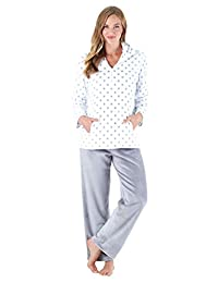 Sleepyheads Women's Sleepwear Fleece 2-Piece Loungewear Pajama PJ Set