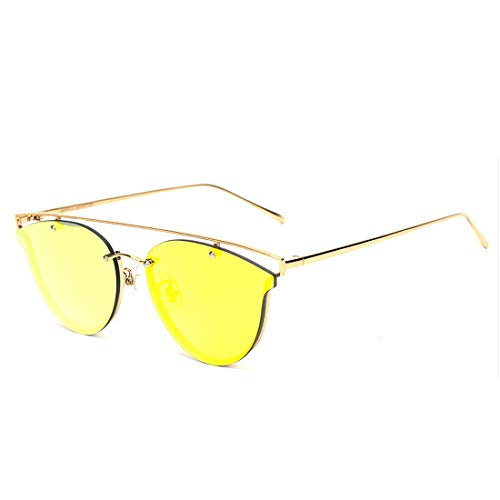 Lens Tea Lens Yellow Fishing Polarized Men's 'Pops Sakuldes Coffee UV400 Frame Gold Frame Lens Color Ladies UV Cut Sunglasses 100 Sunglasses w8ZBRBvHqn