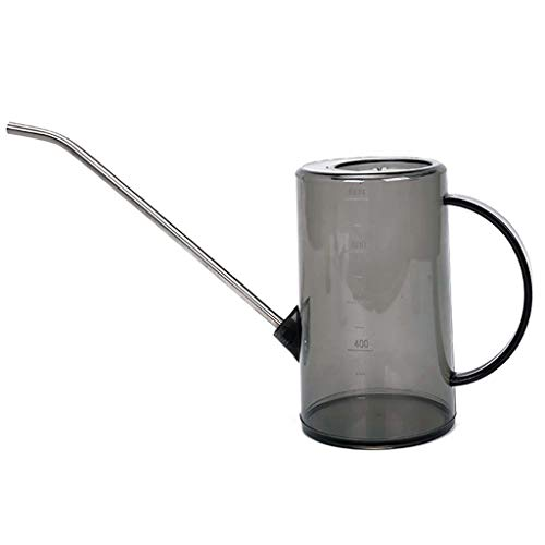 (Longay Outdoor Indoor Watering Can Plants Flowers ABS & Steel Small Long Reach 1L (Black))