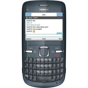 Nokia C3 Cellular Phone - Wi-Fi - Bar - Slate Gray. NOKIA C3-00 QWERTY 2MP UNLOCKED GSM BLUE CELL. 2.4' LCD 320 x 240 - 2 Megapixel Camera - Quad Band - Bluetooth - USB - 8 Hour Talk - Camera Gsm Mp 2
