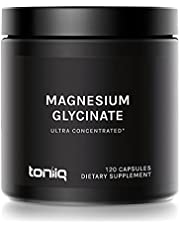 3,000mg Ultra High Strength Magnesium Glycinate - 20% Purified to Contain 600mg of Elemental Magnesium - Chelated and Highly Bioavailable - 120 Veggie Capsule