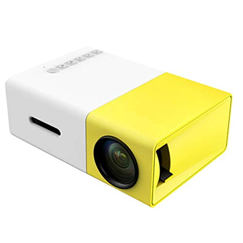 Yg300 Led Mini-Projektor Audio HDMI USB 3D Pico Projector Home Media Player LCD Video Proyector Kinder Geschenk – Gelb…