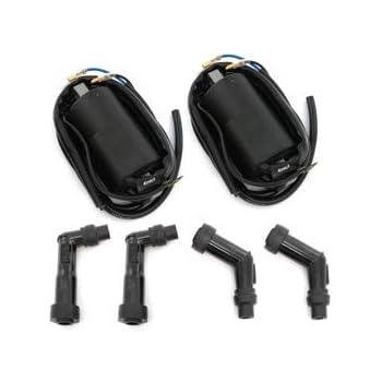 Honda CB//CL450K CB500T Magna 5 ohm High Output Performance Coils and Caps