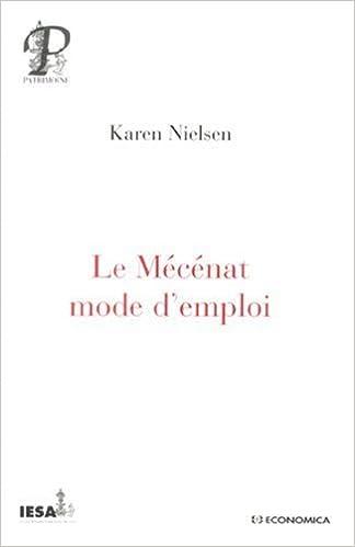En ligne Le Mécénat mode d'emploi pdf, epub ebook