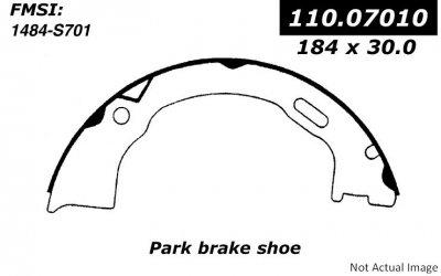 Grand Jeep Brake Emergency Cherokee - Centric (110.07010) Parking Brake Shoe