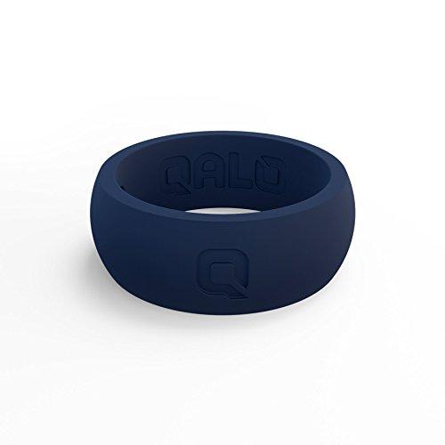 (Men's True Blue Classic Q Q2X Silicone Ring Size 11)