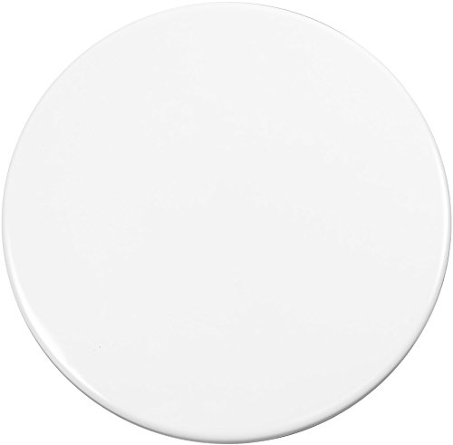 Calypso Basics by Reston Lloyd Heavy Weight Electric Stove Burner Covers, 10-Inch, White