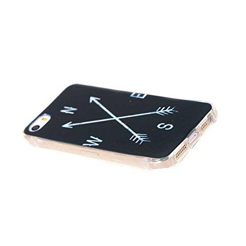TPU Silikon Schutzhülle für iPhone SE Silikon Handyhülle Schale Etui Protective Case Cover (04#)