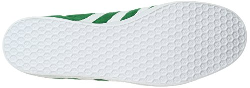Adidas Originals Men's Gazelle Fashion Sneaker, Green/White/Gold Met, 10.5 M US