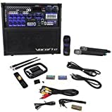 VocoPro HERO-REC-6 120W 4 Channel Multi-Format Portable P.A. System with Digital Recorder/ UHF Wireless Mics