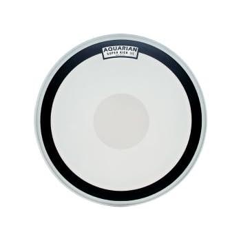 aquarian drumheads skiii16 super kick iii single 16 inch bass drum head with dot. Black Bedroom Furniture Sets. Home Design Ideas