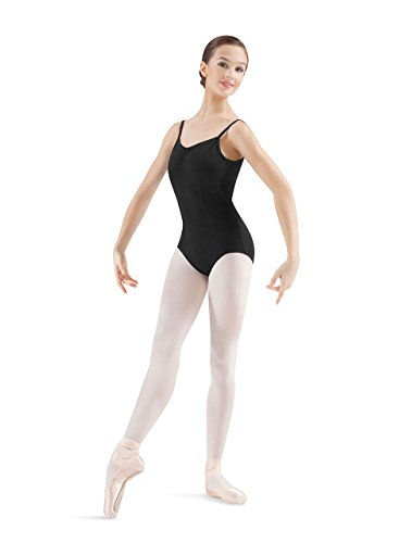 (Mirella Women's Princess Seam Pinch Front Camisole Dance Leotard)