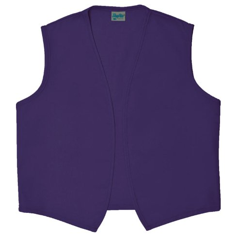Daystar 740NP Purple Costume No Pocket Vest Unisex Small-5XL Alladin Made In USA Sold by paynter Enterprises LLC