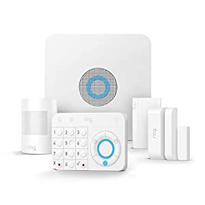 Ring Alarm Home Security System (5-Piece Kit) – Works with Alexa