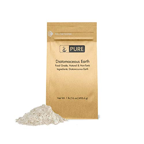Diatomaceous Earth (1 lb.) by Pure Organic Ingredients, Food Grade, Hundreds of...