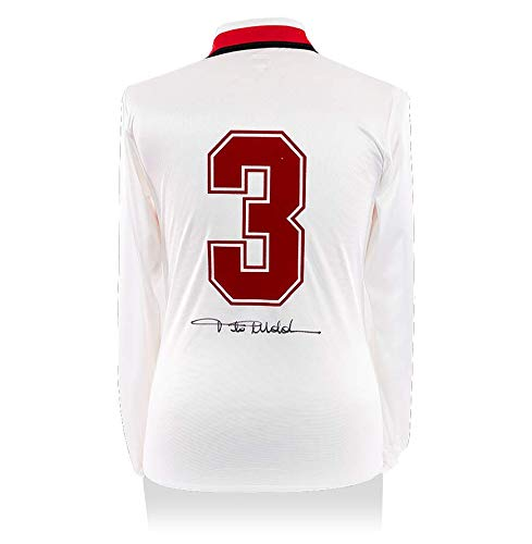 Icons.com Paolo Maldini Signed AC Milan 1990-92 Away Shirt: Amazon ...