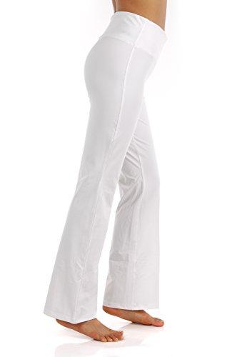 e8bca644c07e5 ZEROGSC Women's Yoga Pants - Workout Running Tummy Control Stretch Power  Flex Boots Cut Leggings