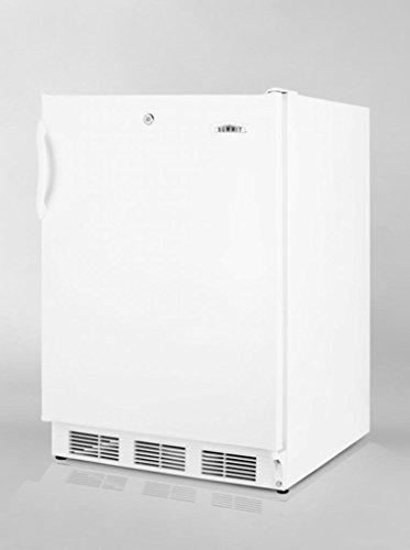 (Home Buddy Summit 24 In. Wide Ada Compliant Refrigerator-Freezer W/Lock AL650L refrigerator)
