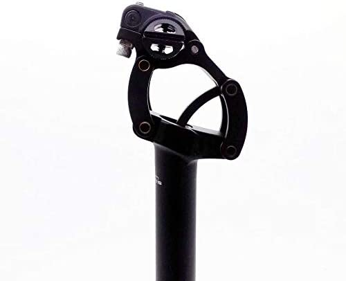 Black TMARS SD-475 Suspension Seat Post with Paralleogram system  30.9x400mm