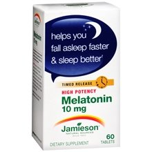 2 paquet de Jameson mélatonine 10 mg Dietary Supplement 60 comprimés