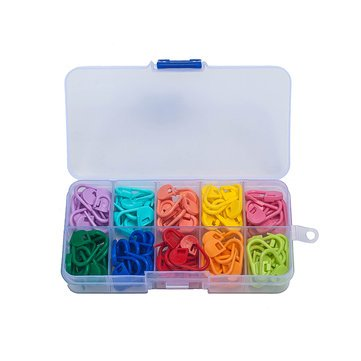 Sew Together Knitting Crochet Locking Stitch Arts Crafts & Sewing - Wx-101 120pcs Plastic Markers Holder Needle Clip Diy Craft Knitting Crochet Locking Stitch - Run by Unknown
