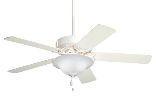 Emerson CF713WW Pro Series Energy Star 50-inch Dual Mount Ceiling Fan with Reversible Blades, 5-Blade Ceiling Fan with LED Lighting