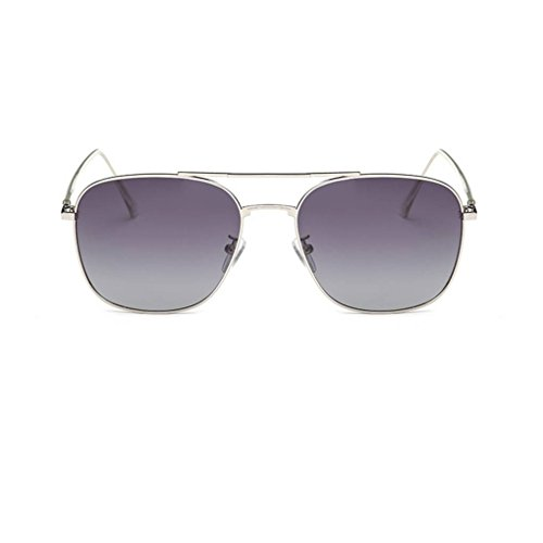 Gafas de Hombres Gafas protección cuadrada Mujeres conducción gafas unisex 2 sol UV400 Coolsir de forma de polarizadas Moda ZOFqwv8