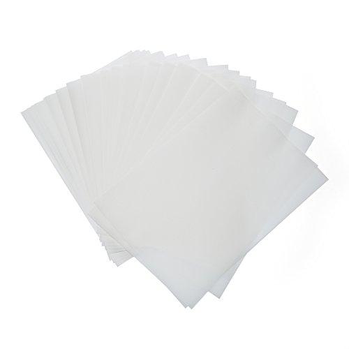 100feuilles de papier transparent 85g/m² DIN A4–Très bonne qualité