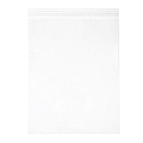 ClearBags 11 1/4 x 14 1/8 Flap Crystal Clear Seal Top Bags with Resealable Adhesive on Flap Not Bag | 11x14 Photos Art Pictures Posters | Crystal Clear Acid Free Archival Safe | B11S Pack of 100