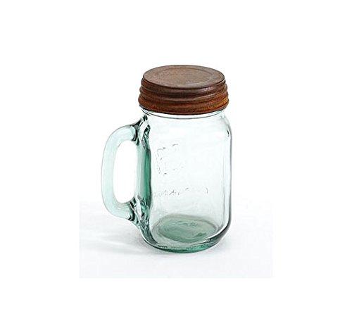 Rusty Mason Jar Lid - 2.875in. - Set Of 6